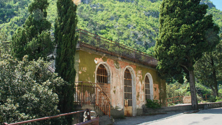 So sah das Ponale Alto Belvedere 2008 aus