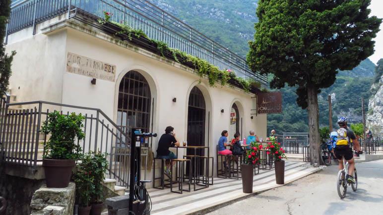 So sieht das Restaurant Ponale Alto Belvedere heute aus