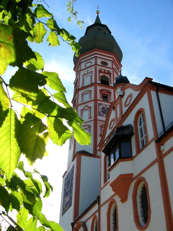 Die Klosterkirche Andechs