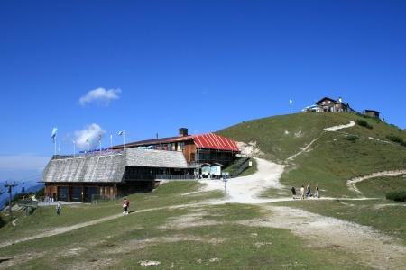 Die Bergstation der Wankbahn, im Hintergrund das Wankhaus
