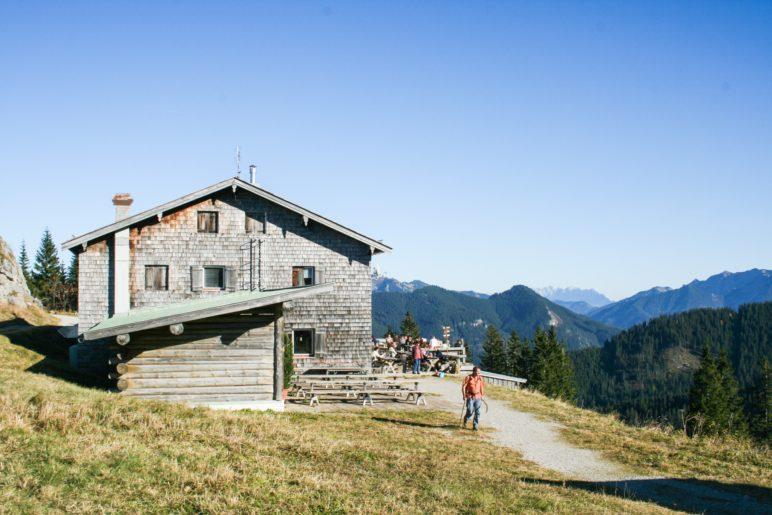 Das Berggasthaus Wallberghaus