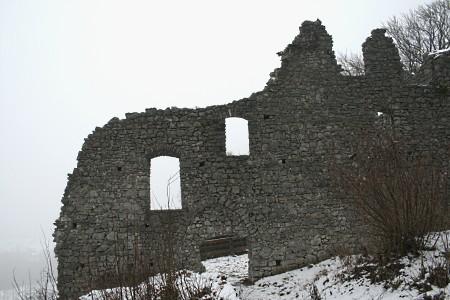 Ruine der Burg Werdenfels