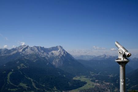 Die Zugspitze, vom Wank aus gesehen