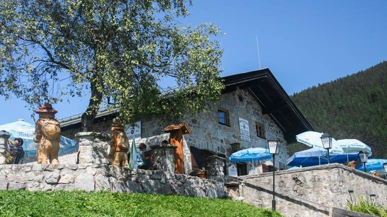 Ein leichtes und beliebtes Ziel für Familienwanderungen: Die Albert-Link-Hütte am Spitzingsee