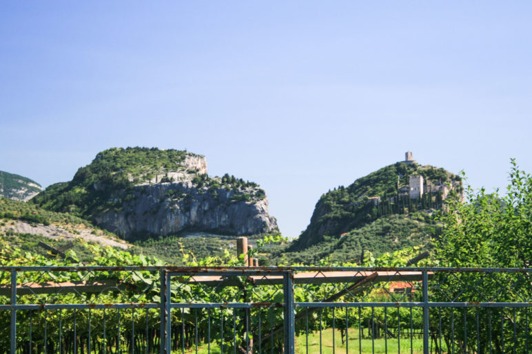 Der Colodri und die Burg Arco