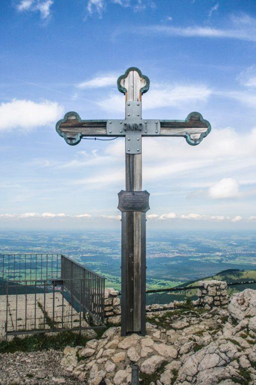 Das Wendelstein-Gipfelkreuz