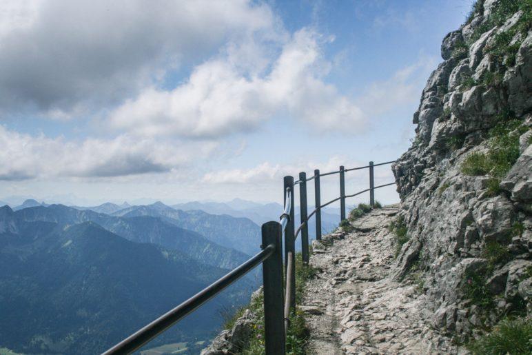 Auf dem Wendelstein-Gipfelweg