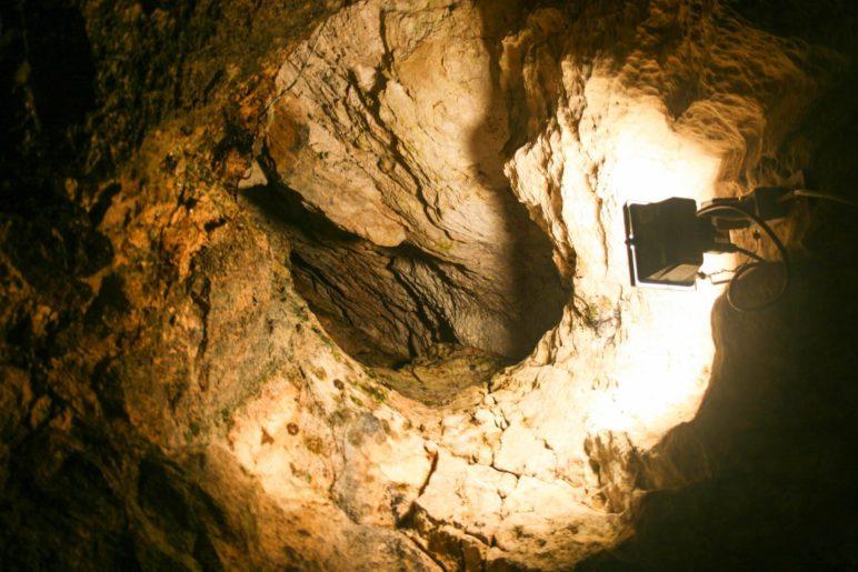In der Wendelsteinhöhle
