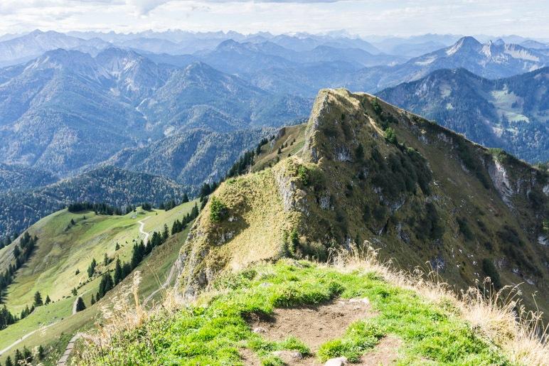 Alpenblick vom Rotwandgipfel