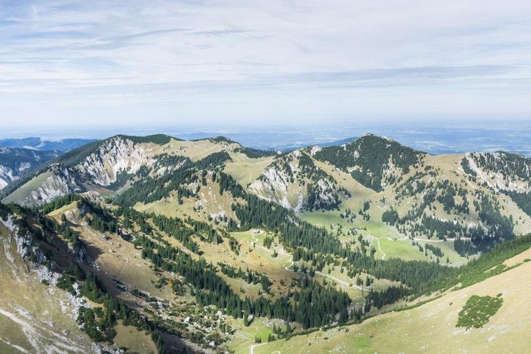 Gipfelblick von der Rotwand