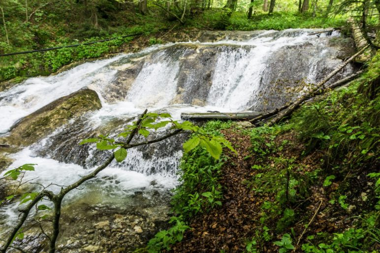 Der zweite, breite WasserfallDer zweite, breite Wasserfall