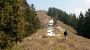 Die Baumgartenschneid zwischen Tegernsee und Schliersee