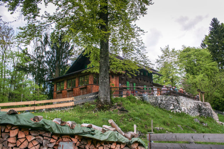 Das Gasthaus Werdenfelser Hütte