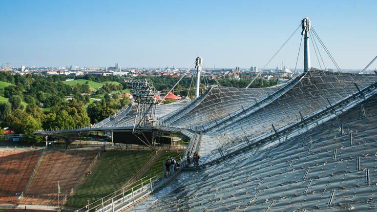 Die Zeltdachtour auf dem Olympiastadion