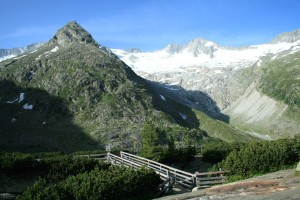 Der Berg direkt gegenüber der Berliner Hütte: Am Horn