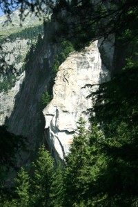 Seht Ihr das Gesicht im Fels?
