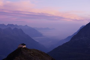 Die Brunnenkogel-Hütte - aus dem Buch Tirol - Land der Berge - von Susanne Schaber (Autor), Bernd Ritschel (Fotograf), erschienen im Tyrolia Verlag