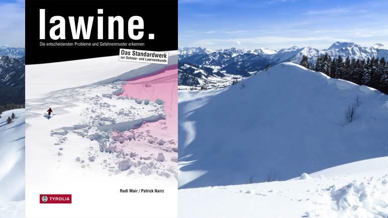 Lawine. Von Rudi Mair und Patrick Nairz. Cover: Tyrolia-Verlag