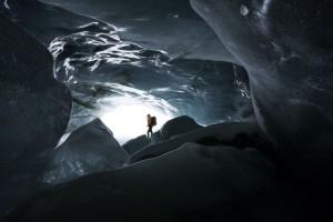 Eishöhle Vernagt - aus dem Buch Tirol - Land der Berge - von Susanne Schaber (Autor), Bernd Ritschel (Fotograf), erschienen im Tyrolia Verlag