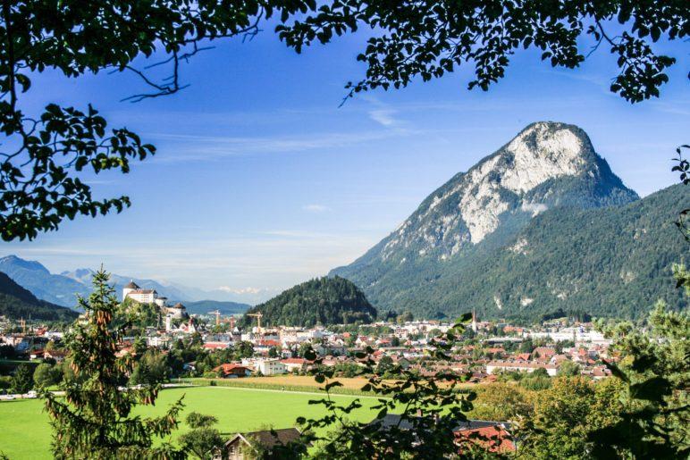 Blick zurück auf Kufstein und den Pendling