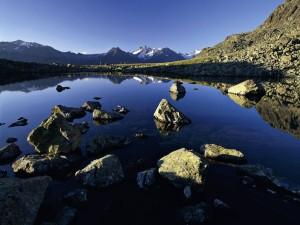 Nedersee - aus dem Buch Tirol - Land der Berge - von Susanne Schaber (Autor), Bernd Ritschel (Fotograf), erschienen im Tyrolia Verlag