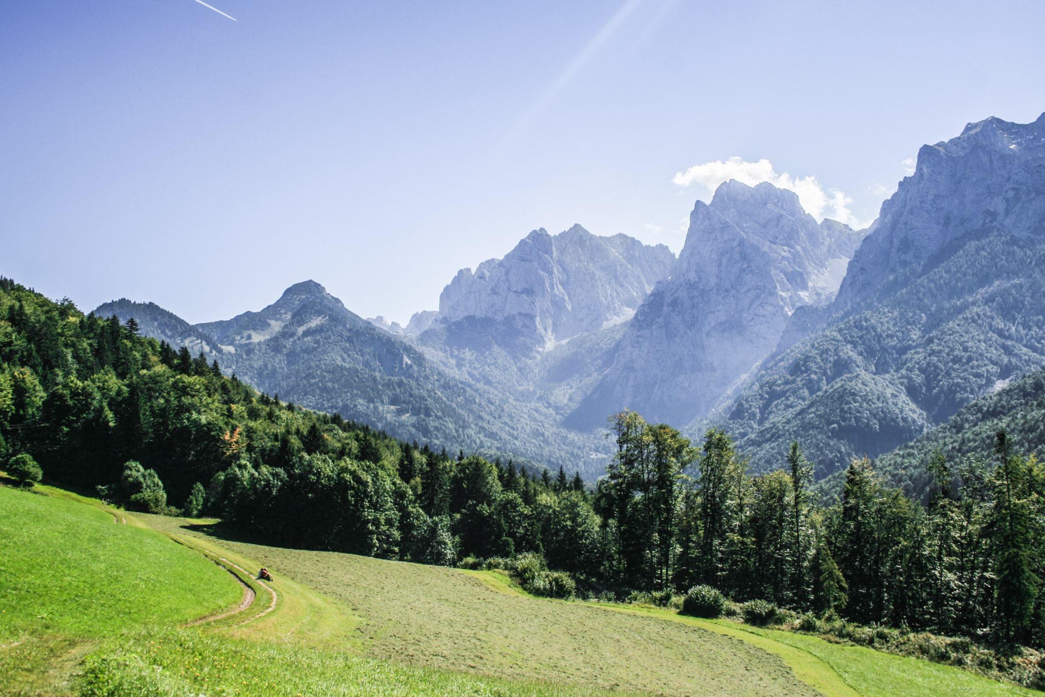 Das Kaisertal und die Berge des Wilden Kaisers