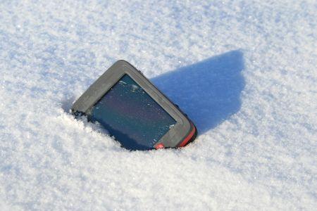 Ein Schneebad ist kein Problem, das IBEX 30 ist nach IPX-7 wassergeschützt.