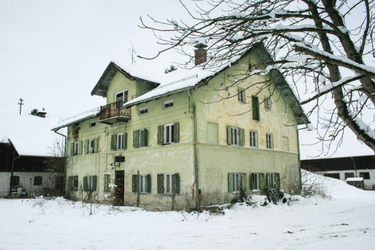 Das Wohnhaus der Sägmühle