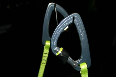 Am Edelrid-Stand