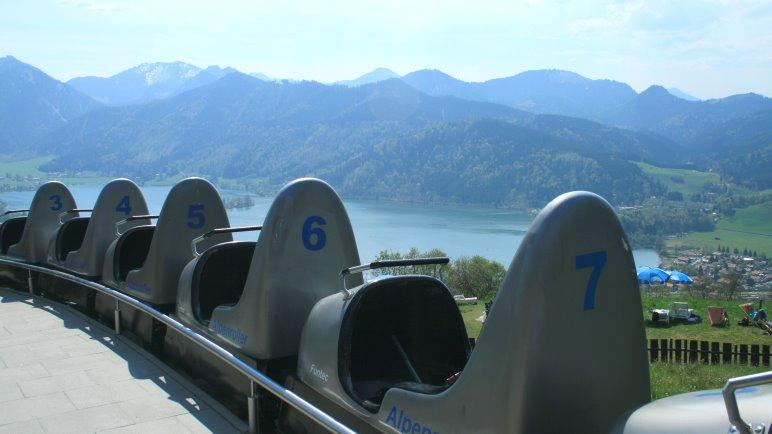 Alpenroller stehen bereit für die nächste Fahrt