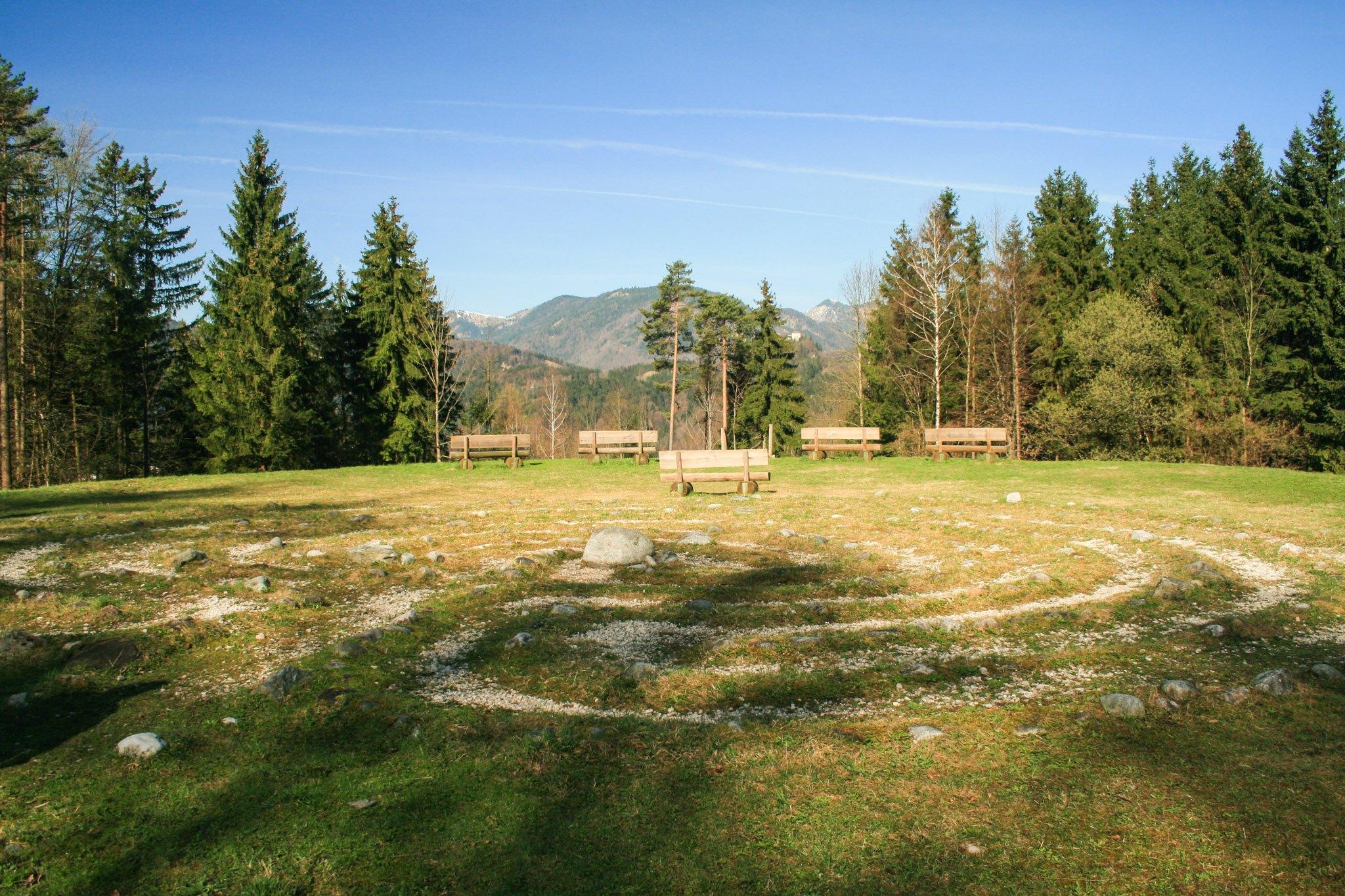 Ein keltischer Steinkreis bei Kufstein