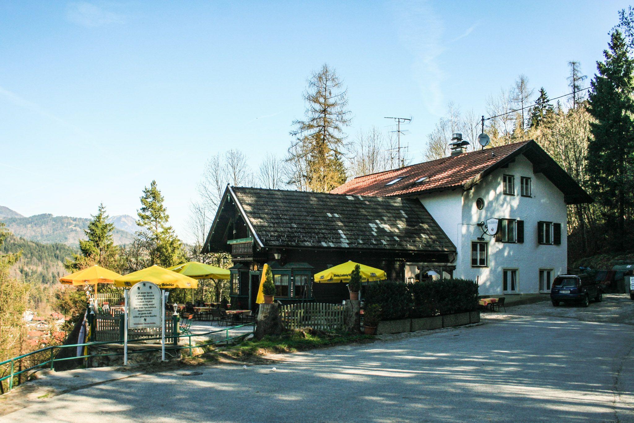 Die Theaterhütte oberhalb von Kufstein