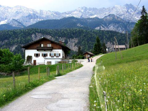 Partnachalm und Wettersteingebirge
