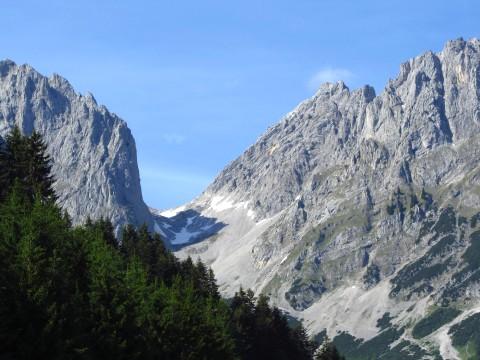 Das Ellmauer Tor, auch ein beliebtes Ziel von der Gaudeamushütte aus