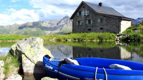 Mein Boot, mein See, meine Hütte ;-)
