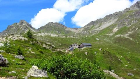Kurz vor dem Ziel: Der erste Blick auf die Friedrichshafener Hütte