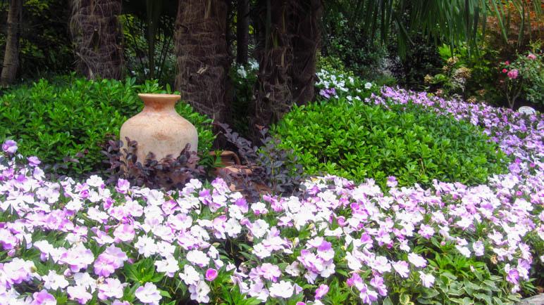 Im Botanischen Garten der Cascata Varone