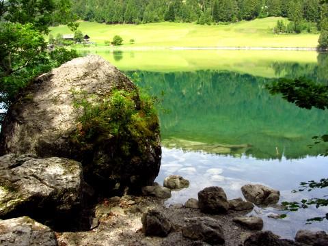 Am Hintersteiner See im Wilden Kaiser