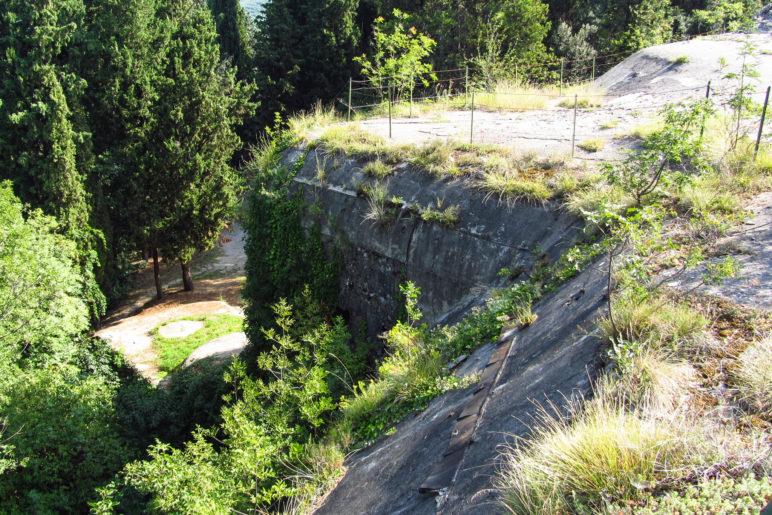 Die Befestigungsanlage Forte Garda