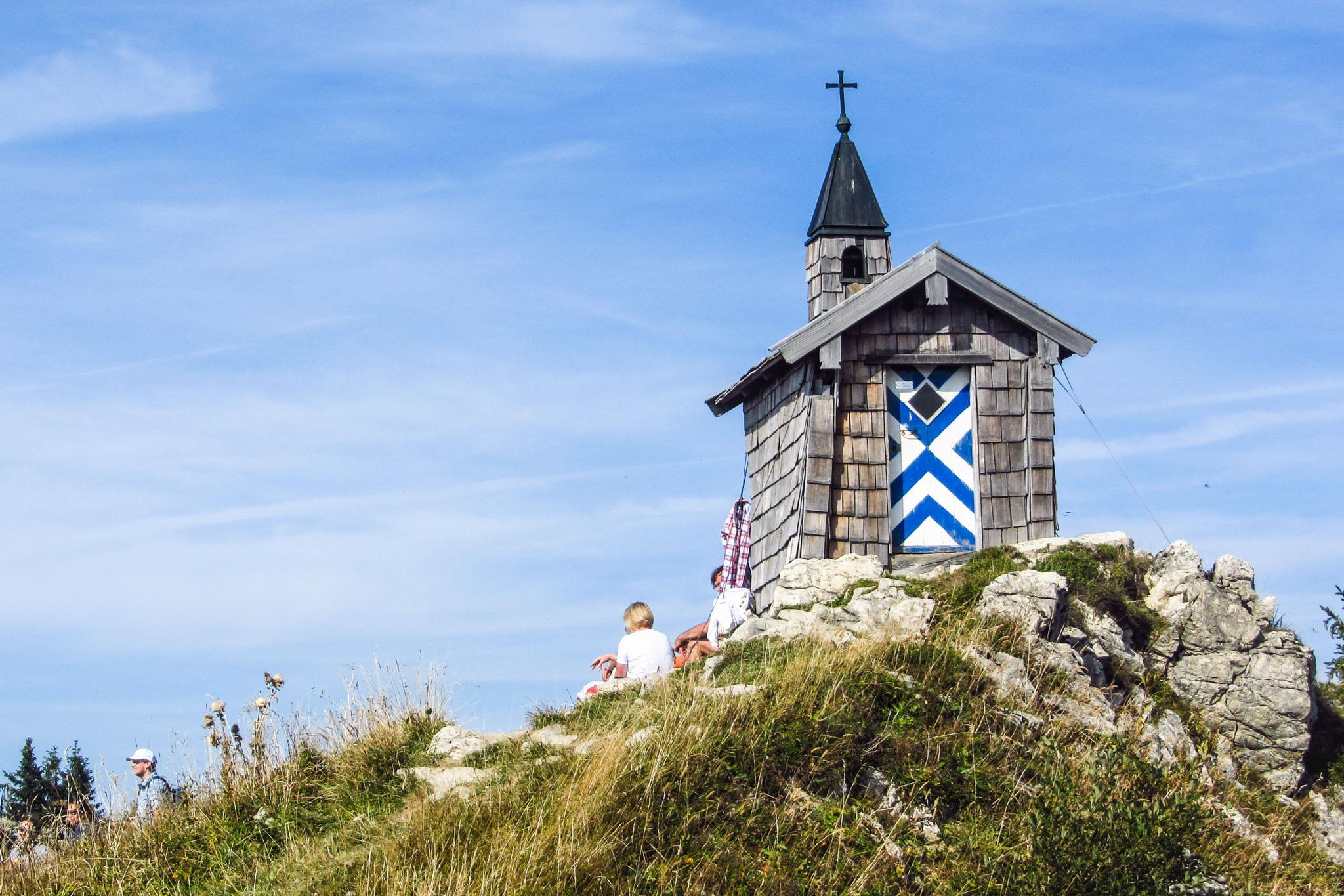 Die kleine Kapelle am Freudenreichsattel