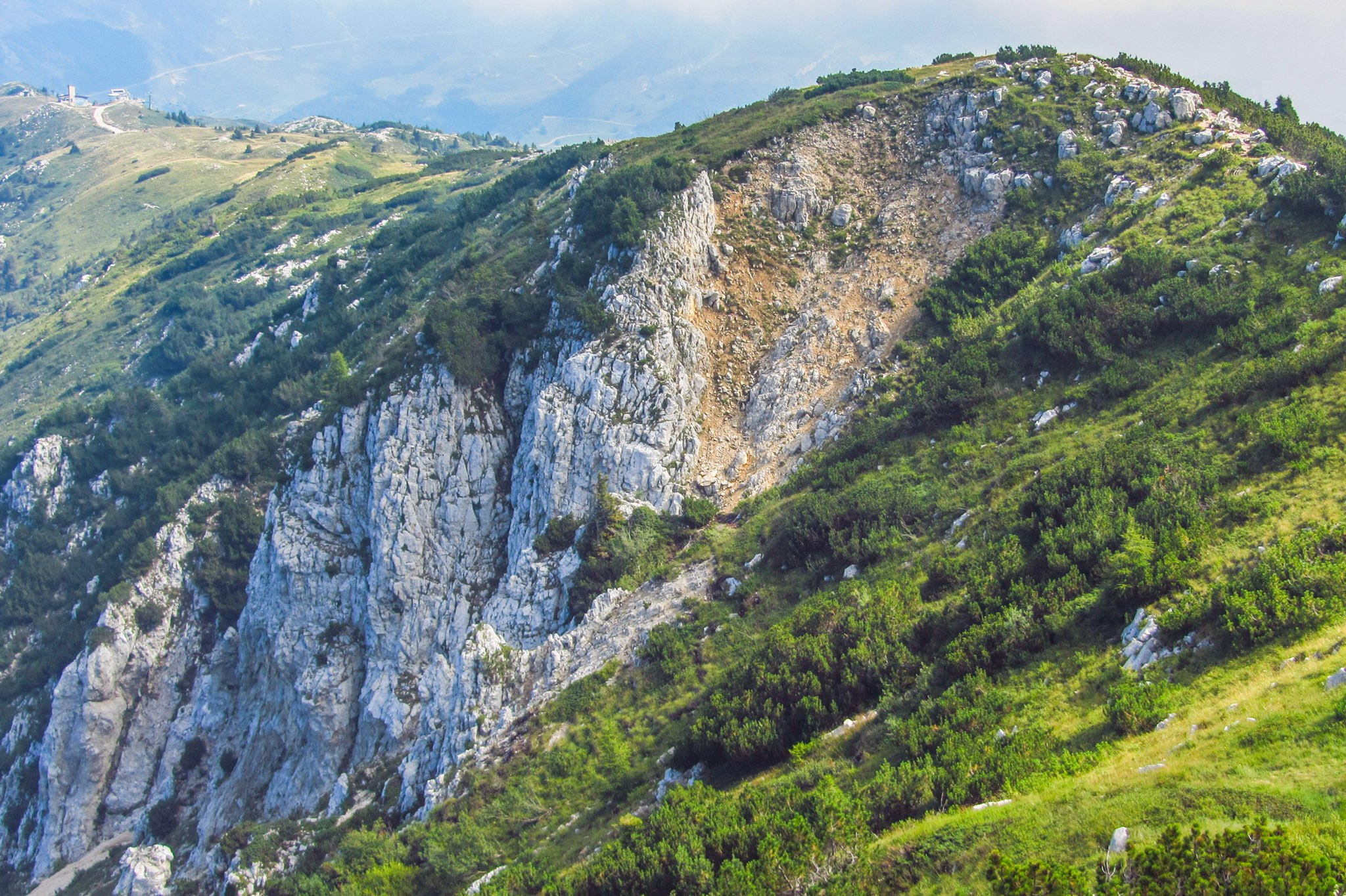 Auf dem Monte Baldo, nahe der Cima Pozzette