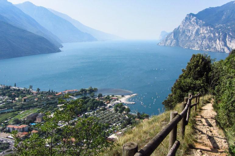 Der Gardasee, vom Monte Brione aus gesehen