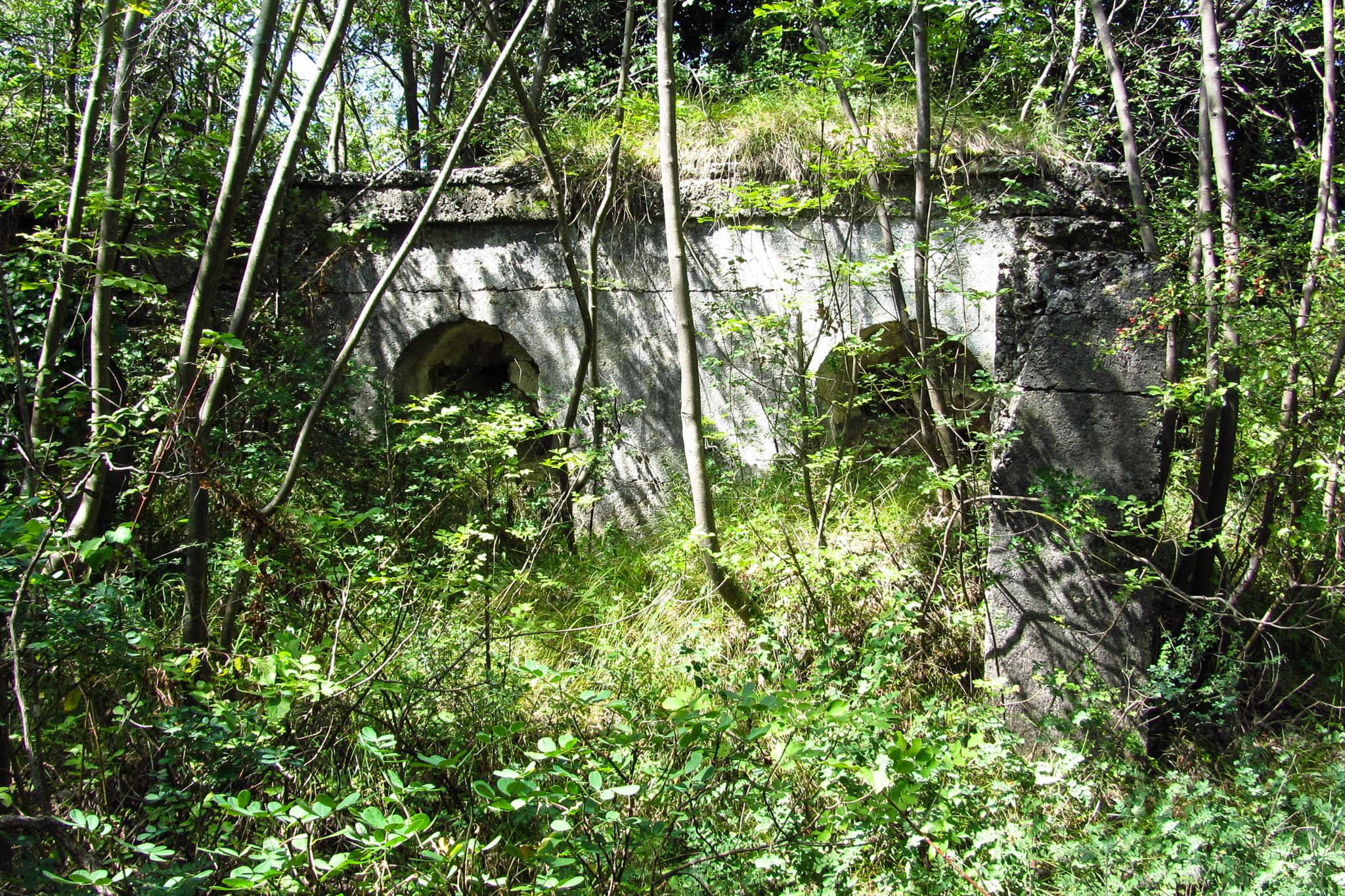 Ruine des Forte Sant'Alessandro