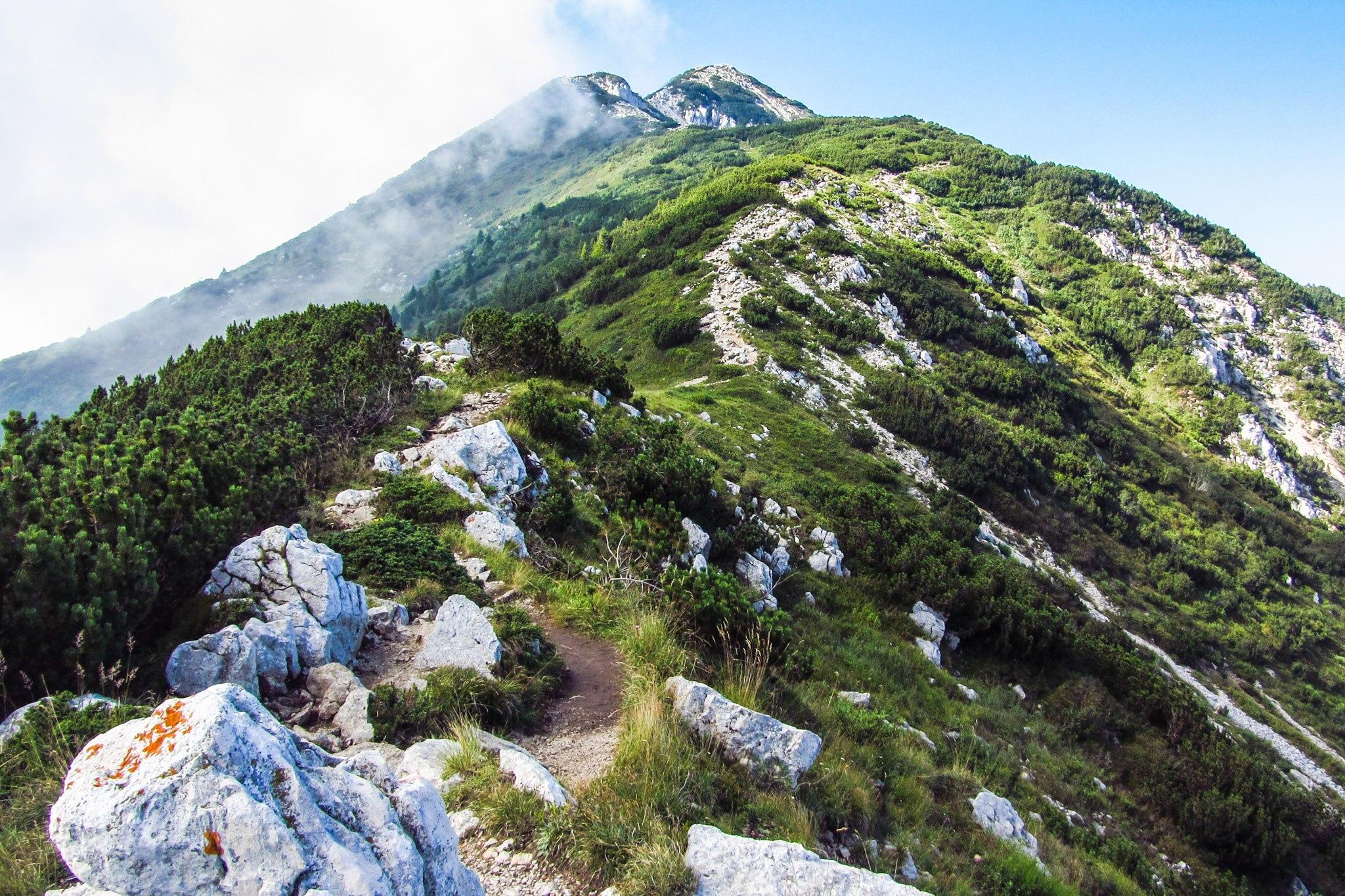 Der Weg zur Cima delle Pozzette