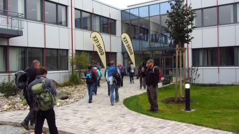 Ankunft bei Gore in Feldkirchen