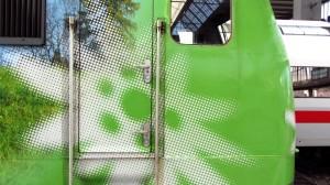 Edelweiss-Lok im Edelweiss-Look