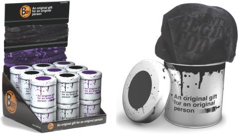 Buff Schlauchtücher in der Geschenkdose (Foto: Buff)