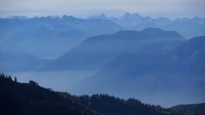 Panoramablick vom Stripsenkopf nach Westen