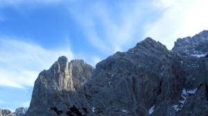 Predigtstuhl, Fleischbank und tolle Wolken
