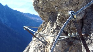 Am Stripsenkopf-Klettersteig